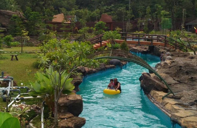 Amazon River Santasea Waterpark Sukabumi